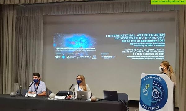 Fuencaliente muestra con éxito suproyecto turístico en la primera Conferencia Internacional Starlight