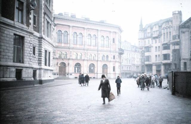1989 год. Рига. На Домской площади (фото: Kalle Kniivilä)