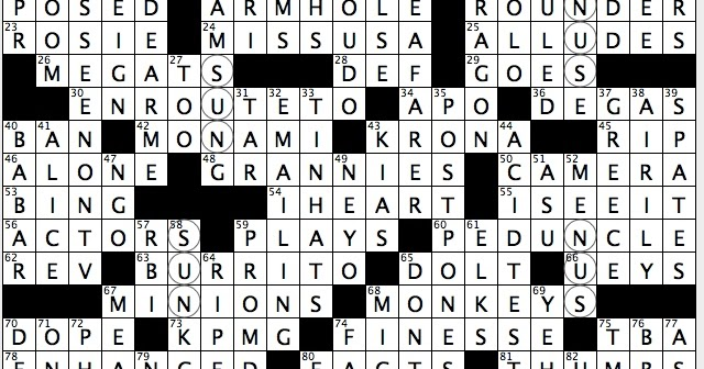 Rex parker does the nyt crossword puzzle ancient undeciphered rex parker does the nyt crossword puzzle ancient undeciphered writing system sun 3 25 18 legal vowelless scrabble play outlay that cannot be m4hsunfo
