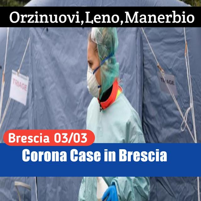 Provincia di Brescia Corona Case List 03/03