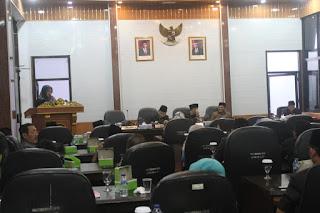 DPRD Kabupaten Cirebon Rapat Paripurna Internal Tentang Pansus Dan Raperda