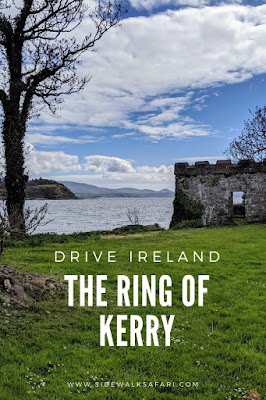 Driving the Ring of Kerry Route in Ireland