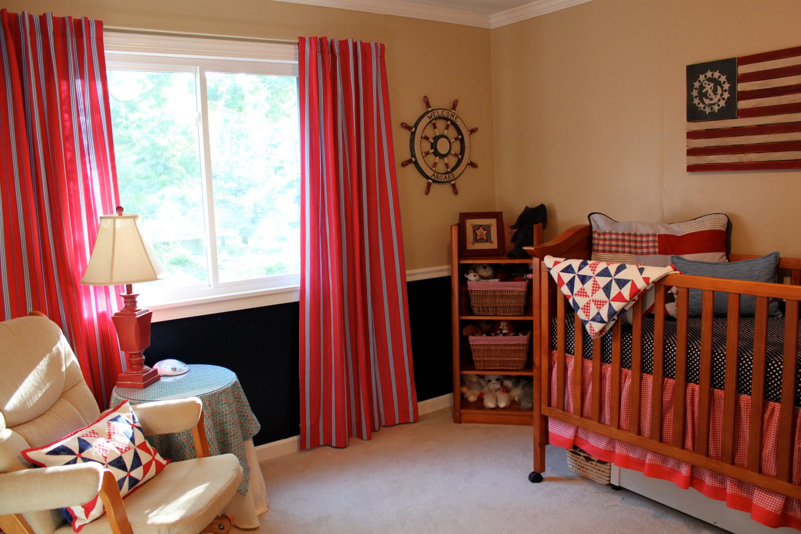 Baby Boy S Room A Nautical Nursery