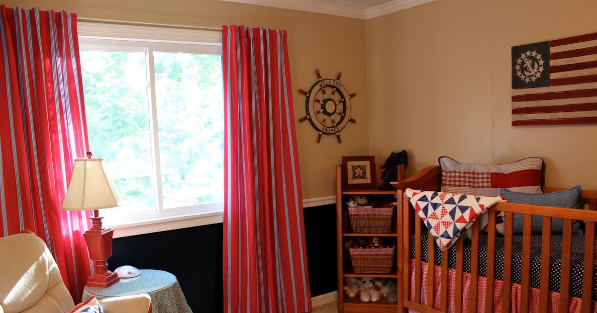 Baby Boy S Room A Nautical Nursery Family Dream Home