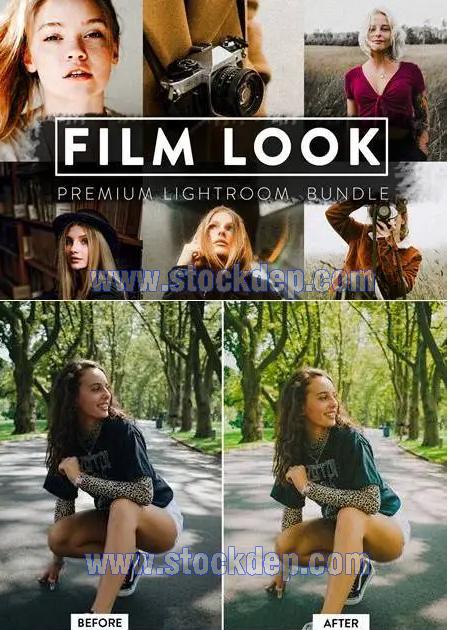 Free file FILM LOOK BUNDLE Lightroom Preset