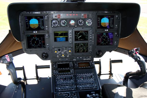 Airbus UH-72A Lakota cockpit