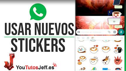 Poner Nuevos Stickers de Whatsapp - Trucos Whatsapp
