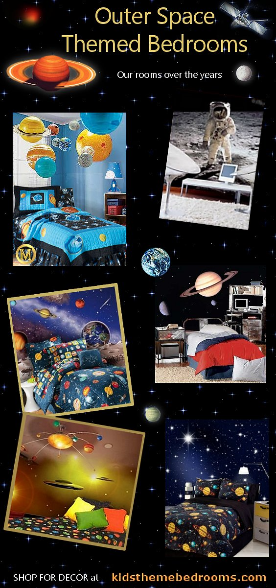 space bedroom decor - space bedroom decorating - space bedding - space bedroom furniture - space bedroom decor - astronauts decor - solar system decorations rockets aliens space shuttle planets bedding galaxy bedding
