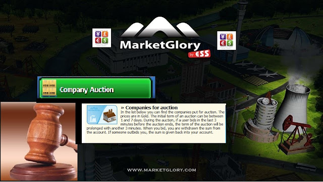 MarketGlory Companies Auction