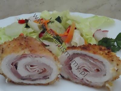 Filet z kurczaka z boczkiem wędzonym