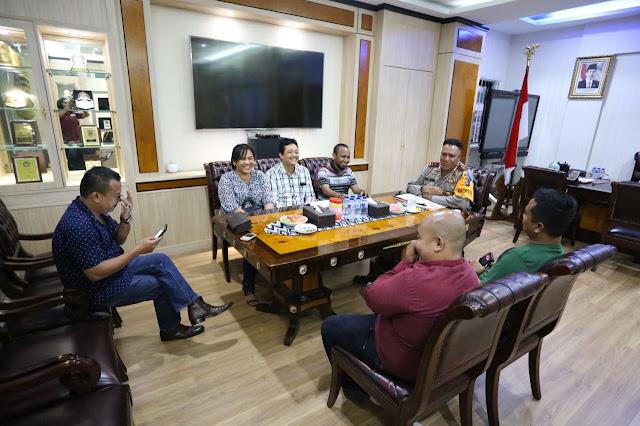 Panitia Perayaan Natal Wartawan Polri Audensi Ke Kapolda Sumut