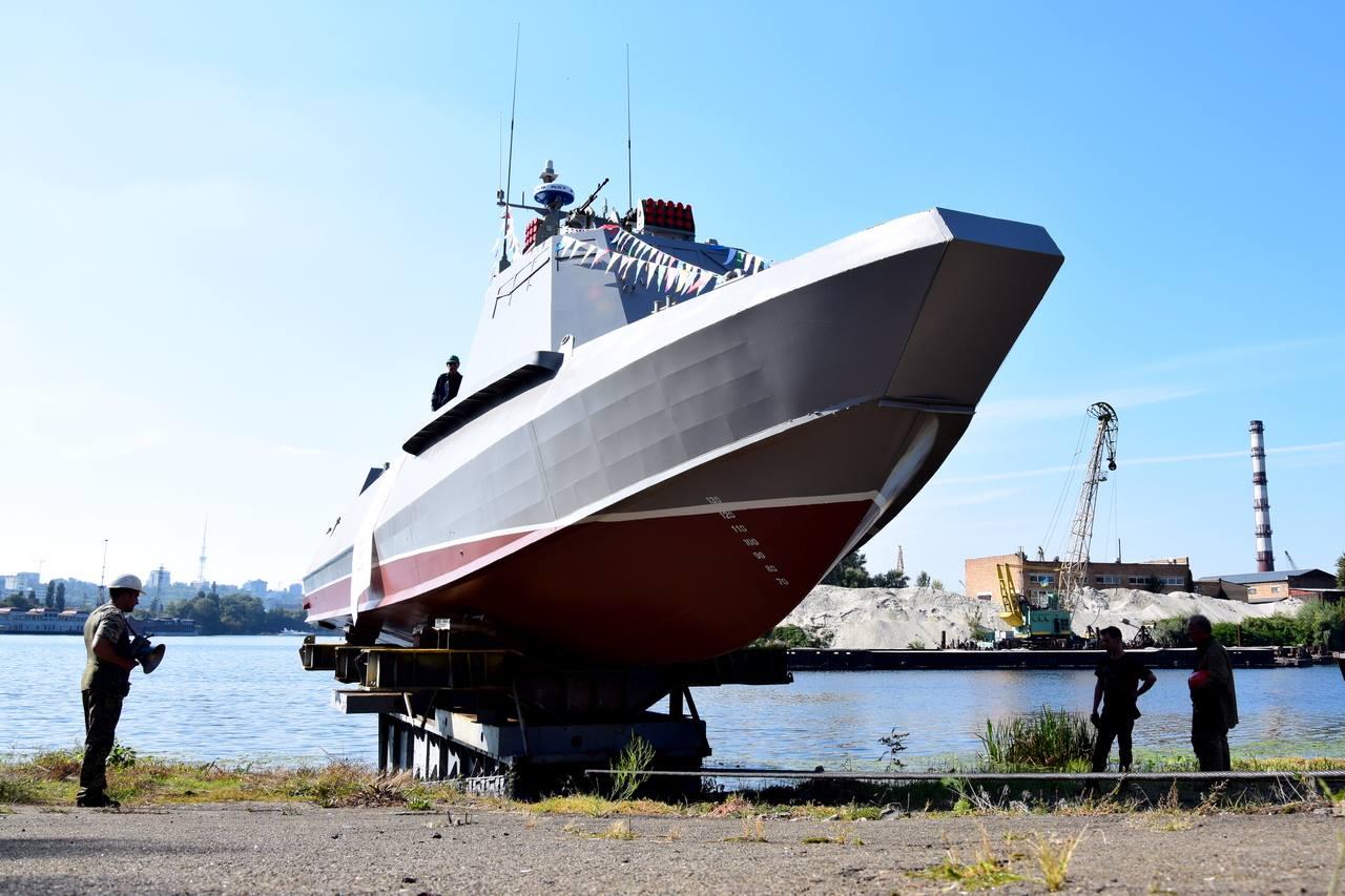 Другий десантний «Кентавр» спущено на воду
