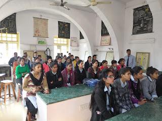 पोदार काॅलेज में राष्ट्रीय प्रदूषण नियंत्रण दिवस मनाया गया।