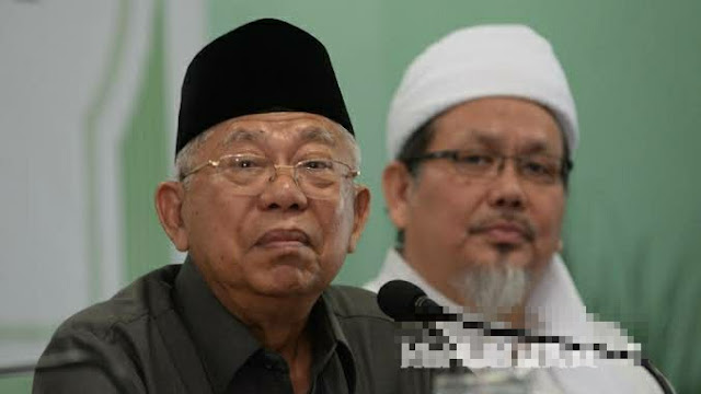 Jawaban Ma'ruf Amin saat Ditanya Tengku soal FPI Dibubarkan: Kita Lawan!
