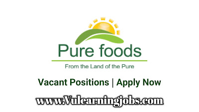 Pure Foods Company (Pvt.) Limited Jobs 2020