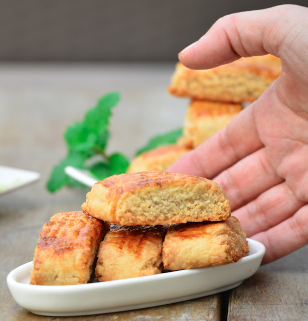 Almond Paste Stuffed Cookies