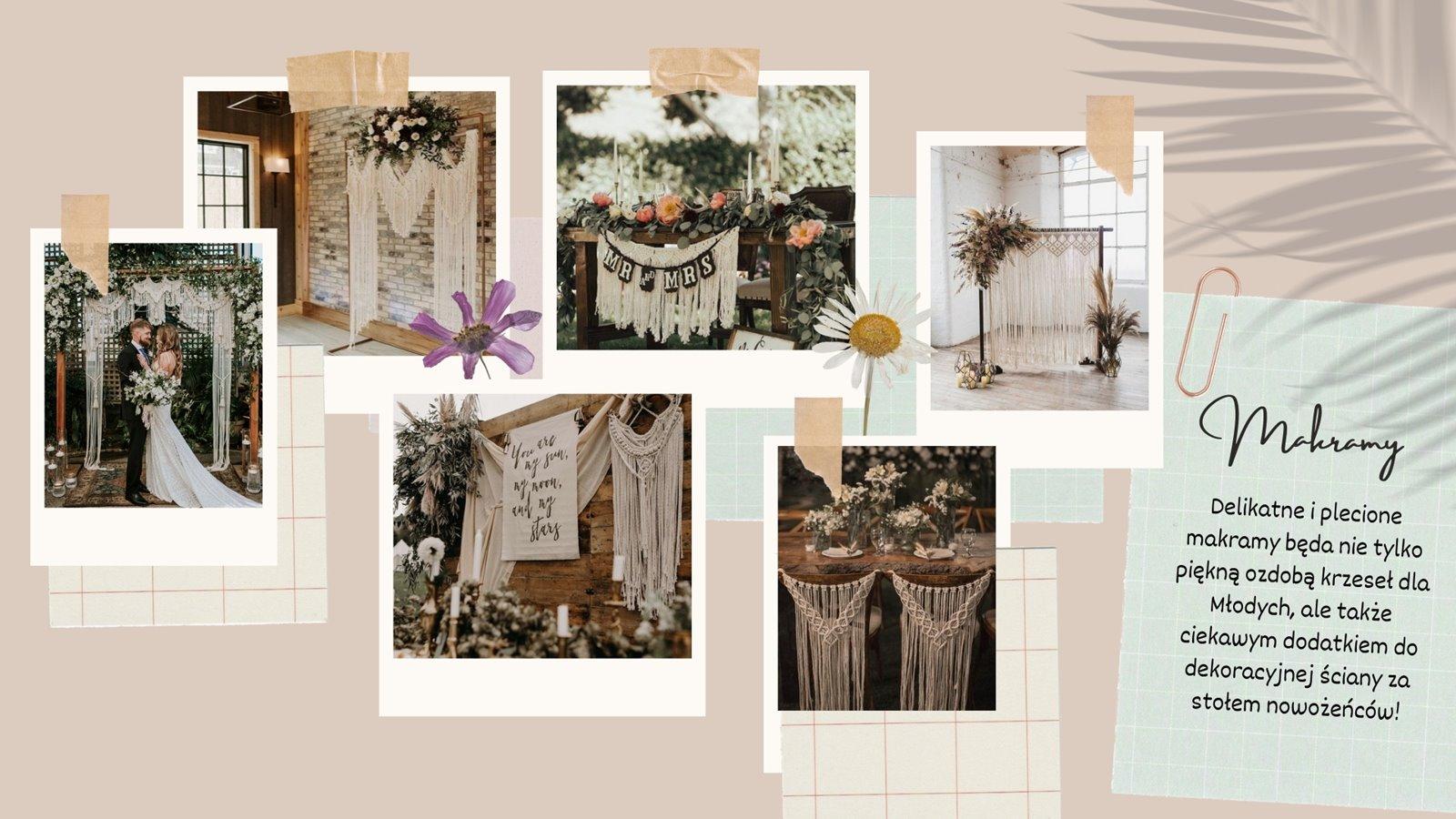 6 dekoracje za stolem panstwa mlodych pomysly na scianki za parą młodą diy jak tanio ubrac sale weselna diy pomysly inspo