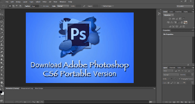 Adobe Photoshop Portable CS6