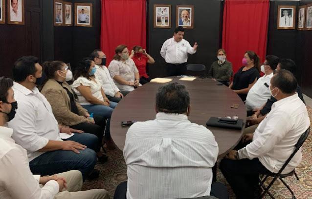 PRI buscará postular a las y los mejores para recuperar Mérida