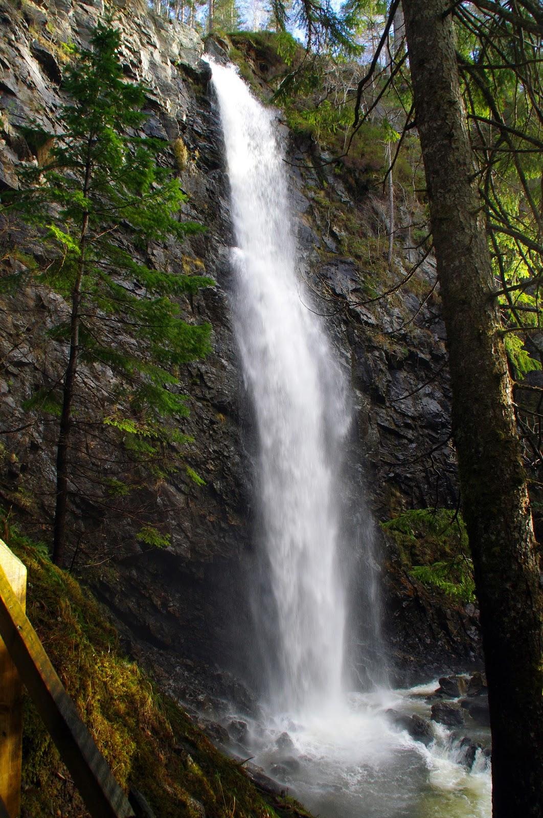 Scottish Highlands Plodda Falls