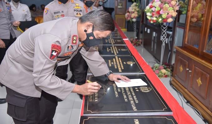Kapolda Lampung Resmikan Pembantukan 12 Polsek Baru