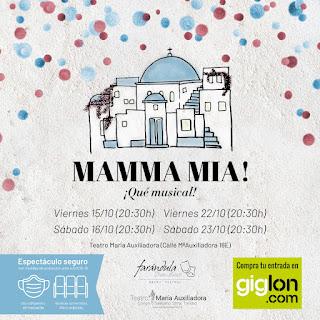 """""""Llenos de MAMMA MIA en el Teatro MAría Auxiliadora"""""""