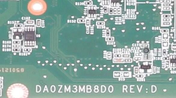 DA0ZM3MB8D0 Rev D ZM3 Dell inspiron 11 3137 Bios