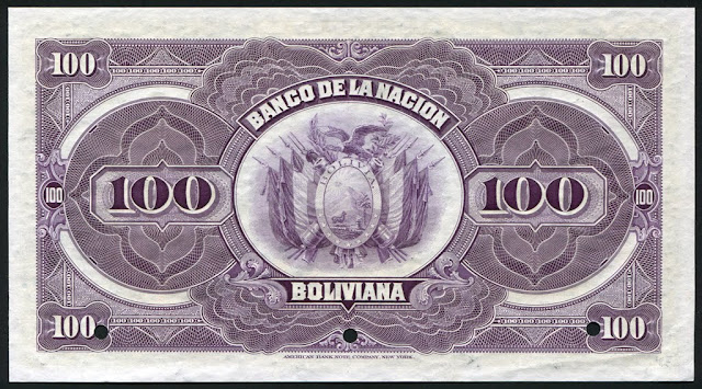 cien bolivianos billetes