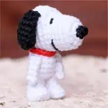Amigurumi Snoopy a Crochet