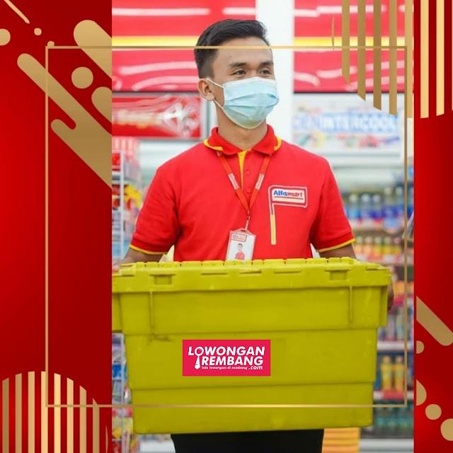 Lowongan Kerja Store Crew Alfamart Rembang Penempatan Pati Kudus Grobogan Demak Blora Tuban Jepara Nganjuk Semarang Timur
