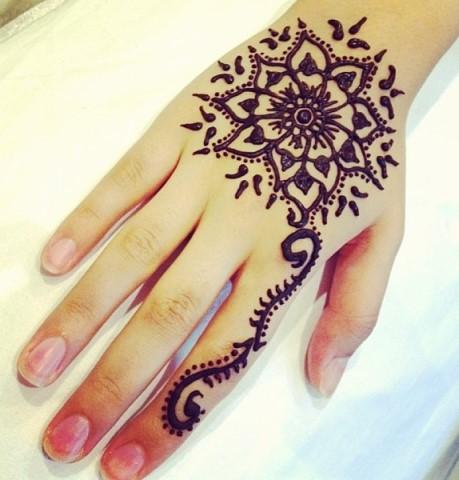 Gambar Henna Tangan 1