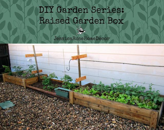 Jessicarose Home Decor Diy Garden Series Raised Garden Box