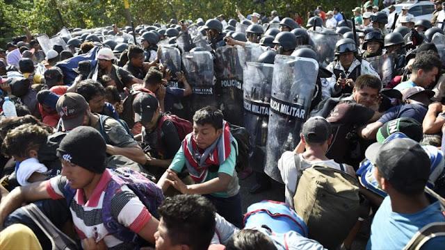 Guardia Nacional de México detiene a miles de migrantes