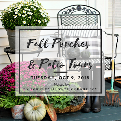Fall Porches and Patio Tour