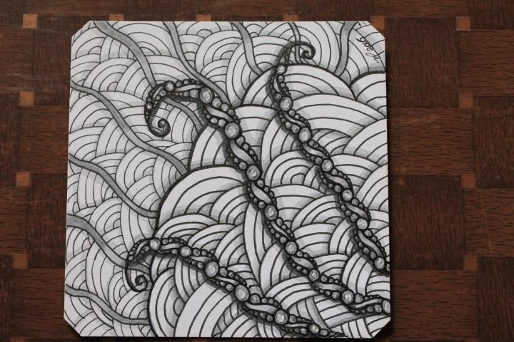 shattuck and akoya zentangle