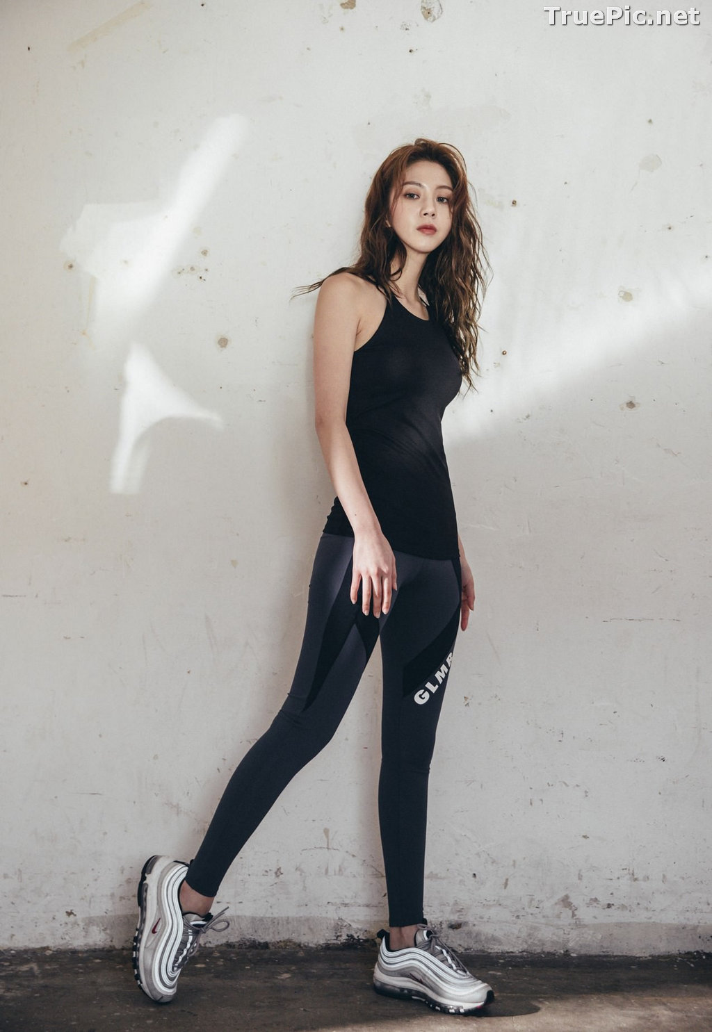 Image Korean Fashion Model - Lee Chae Eun - Fitness Set Collection #1 - TruePic.net - Picture-8