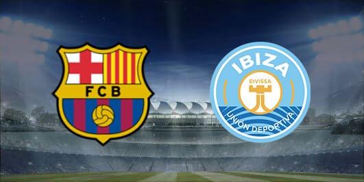 مباراة برشلونة وايبيزا بتاريخ 22-01-2020 كأس ملك إسبانيا