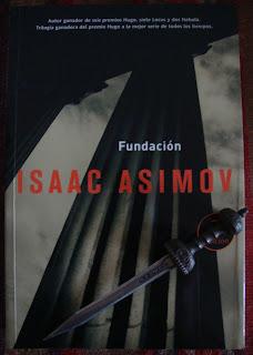 Portada del libro Fundación, de Isaac Asimov