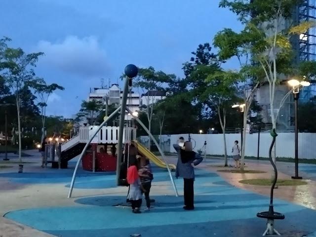 Cuti best di Kuantan bersama anak-anak