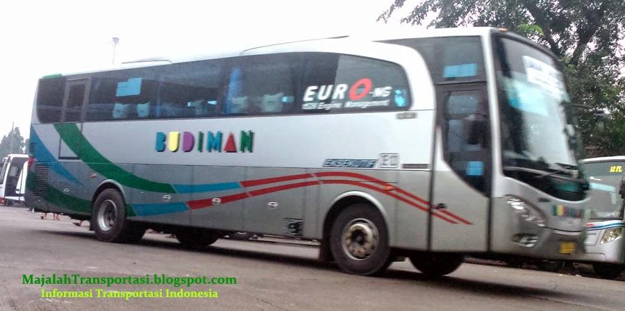 rute, tarif, dan jadwal bus budiman tasikmalaya