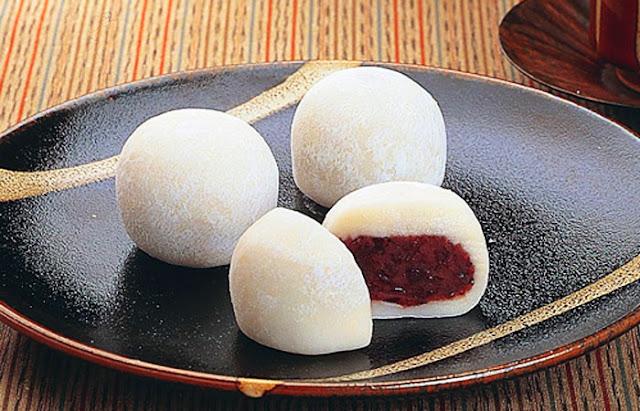 Daifuku - bánh mochi Đài Loan
