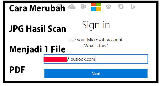 cara menjadikan satu file jpg ke pdf