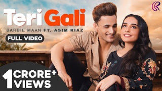 Teri Gali Lyrics Barbie Maan Ft Asim Riaz