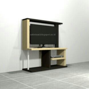 Gambar Desain Rak TV Minimalis untuk Interior Kamar Kost ...