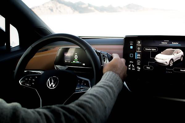 Volkswagen ID.4 comunica-se com passageiros também por luz