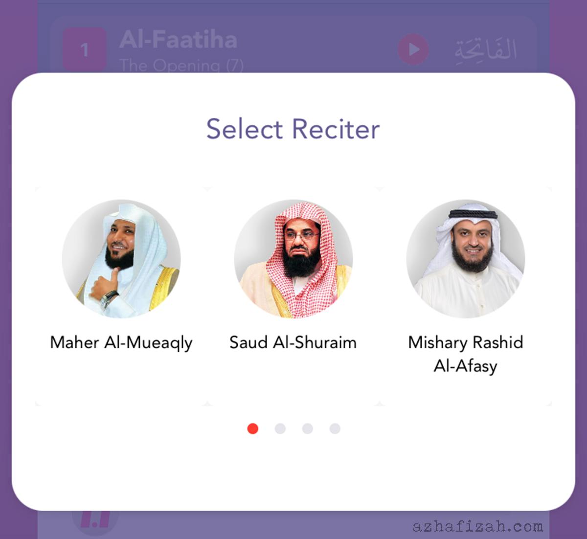 The Noor App-3 Mod Audio Reciter