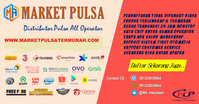 Bisnis Pulsa Menguntungkan, Market Pulsa Digital, Pulsa Murah, Retail Pulsa Murah