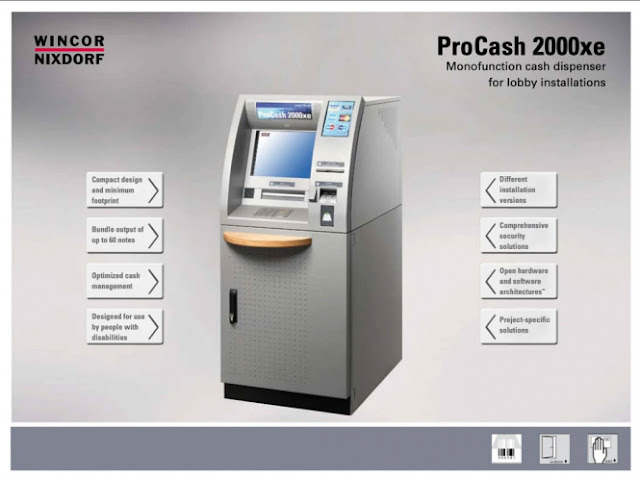 winkor Procash 2000xe atm virus makes atm throw money luck jackpoting