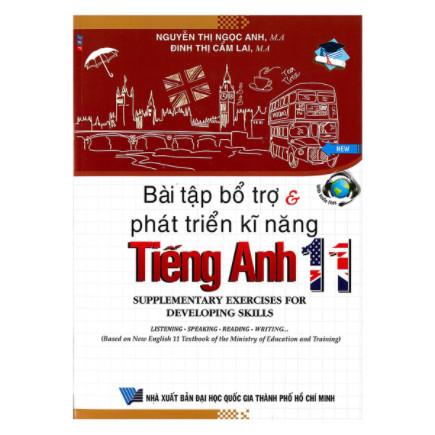 Bài Tập Bổ Trợ Và Phát Triển Kĩ Năng Tiếng Anh Lớp 11 ebook PDF-EPUB-AWZ3-PRC-MOBI