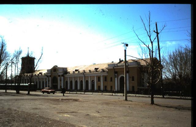Bahnhof Sabaikalsk 1991